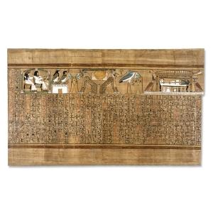 Fragmento del libro de los muertos. British Museum