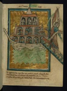 Biblia de William de Brailles. Oxford, mediados del siglo XIII