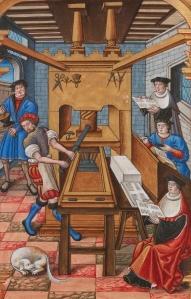 Imprenta europea del siglo XV