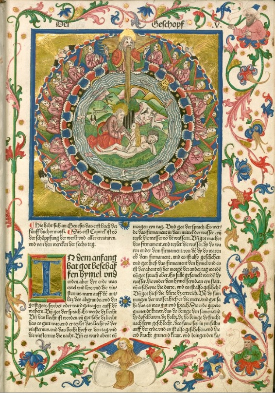 Biblia de Koberger, incunable del año 1483