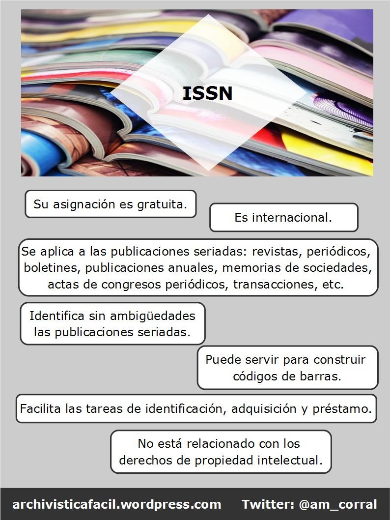 Infografia: ¿Que es el ISSN? - Dokutekana