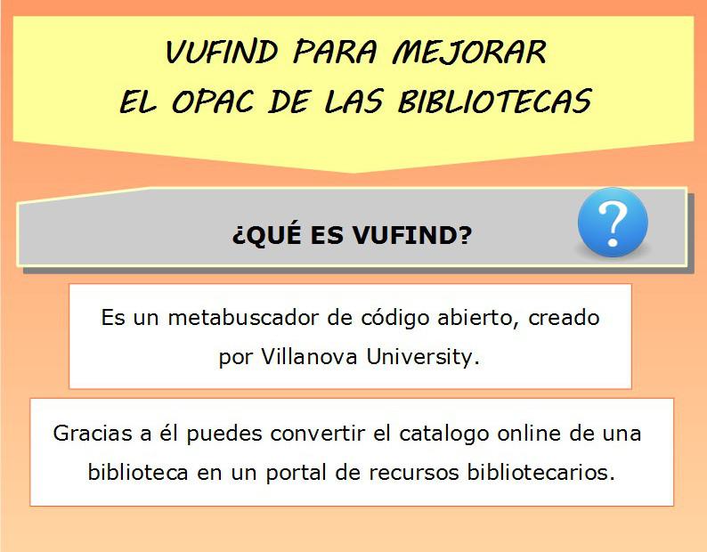 VuFind para mejorar el OPAC de las bibliotecas  - Dokutekana